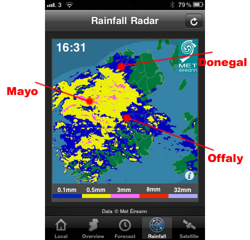 doppler radar rain